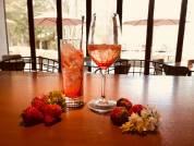 苺のフルーツカクテル