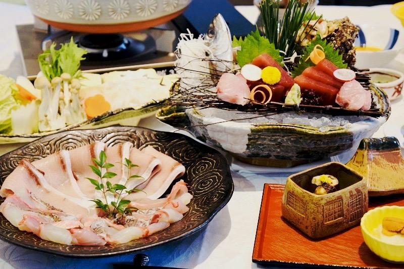 冬季限定!心も身体もぽかぽか 旬のお魚しゃぶしゃぶ鍋プランの登場!