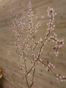 桜の花を咲かせましょう♪